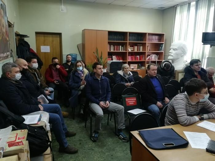 Коммунисты из Красногорска работают во всех направлениях