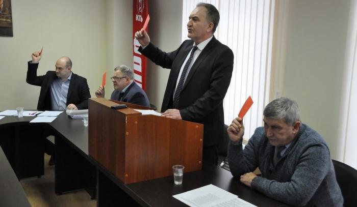 Конференция Московского областного отделения КПРФ: Нет политическим преследованиям!