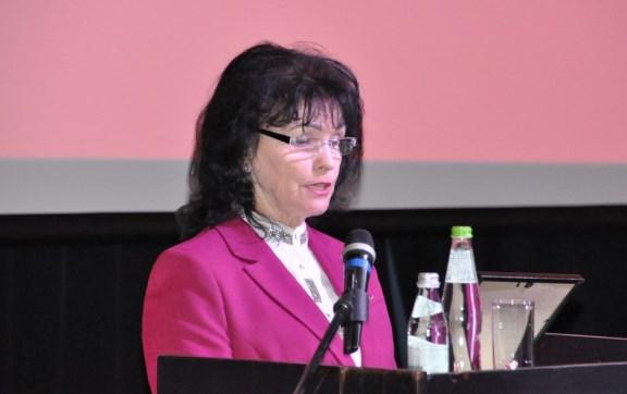 Выступление Марины Пушкиной на 49-й отчётно-выборной Конференции МК КПРФ