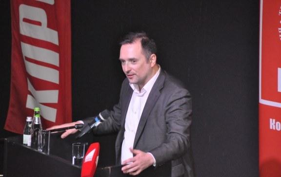 Выступление Владимира Глотова на 49-й отчётно-выборной Конференции МК КПРФ