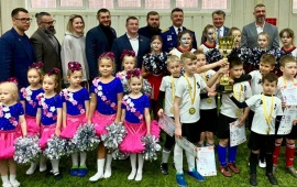 Первый «Кубок Героев» по футболу прошел в Балашихе