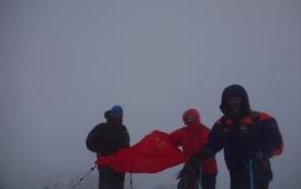 Александр Дегтяренко: «Мы водрузили Красный флаг над Эльбрусом!»