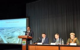 Виталий Фёдоров принял участие в слушаниях ежегодного отчета  Главы городского округа Дубна