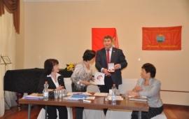 Подмосковная конференция Всероссийского женского Союза избрала своим лидером Наталью Еремейцеву