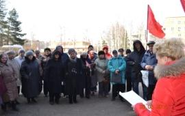 Талдом: Митинг в поддержку законопроекта «О детях войны»