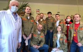 Комсомол - молодая кровь партии!