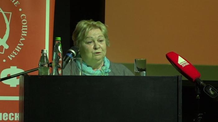 Выступление Татьяны Ордынской на 49-й отчётно-выборной Конференции МК КПРФ