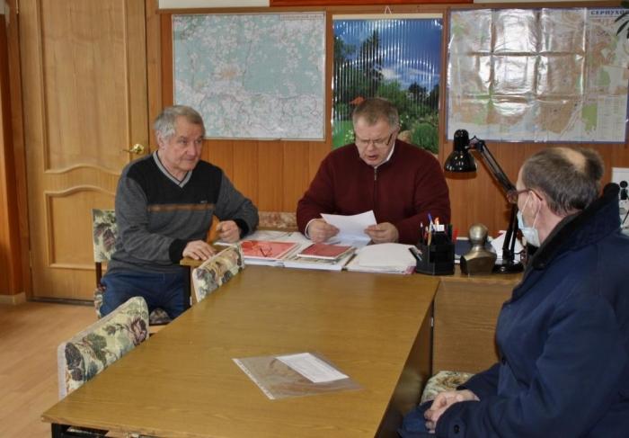 Депутат-коммунист Александр Наумов провёл приём жителей в Серпухове