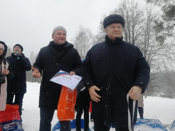 Евгений Добровольский стал почётным гостем на спортивном событии