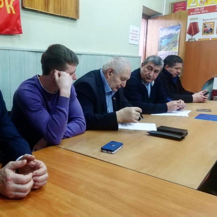 Константин Черемисов провёл заседание предвыборного штаба в Красногорске