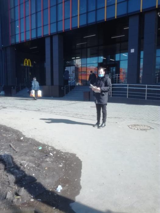 Красногорские коммунисты рядом с народом!