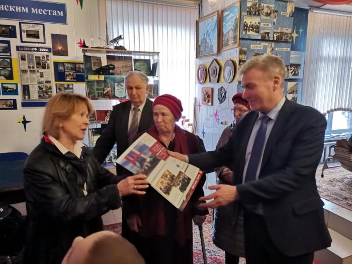 Люберчане помнят о Гагарине