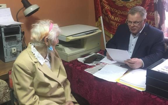 Депутат-коммунист Александр Наумов посетил с рабочим визитом наукоград Пущино
