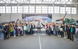День космонавтики в центральном Музее ВВС