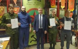 Люберецкий военно-исторический клуб «Звезда» пополняется экспонатами