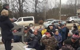 Публичное слушание в с. Борисово, Можайского городского округа