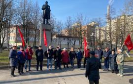 Коммунисты Реутова почтили память о Ленине