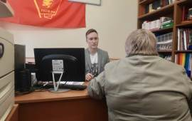 В Красногорском ГК КПРФ состоялся очередной приём граждан, попавших в трудную жизненную ситуацию