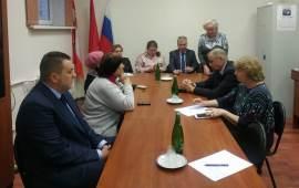 Совет ветеранов Красково даёт наказы депутату