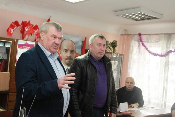 В Чехове состоялась встреча с участниками ликвидации последствий радиационных аварий и катастроф