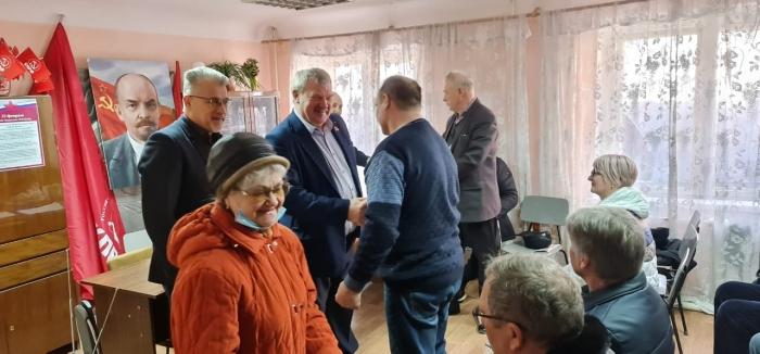 Встреча с участниками ликвидации последствий радиационных аварий и катастроф в Чехове