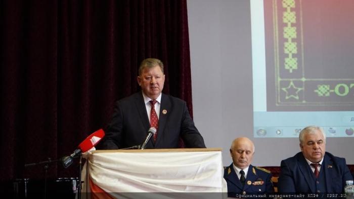 В.И. Кашин: Вместе с КПРФ - на верность народу и служение Отечеству