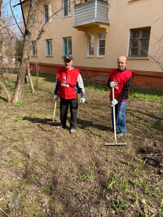 Ленинский апрель: коммунисты Коломна провели традиционный субботник