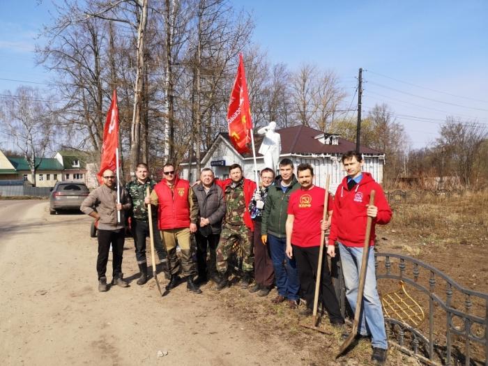 Ленинский субботник в Константиново