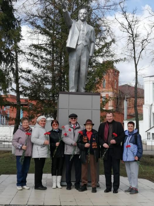 В Коломне почтили память вождя мирового пролетариата