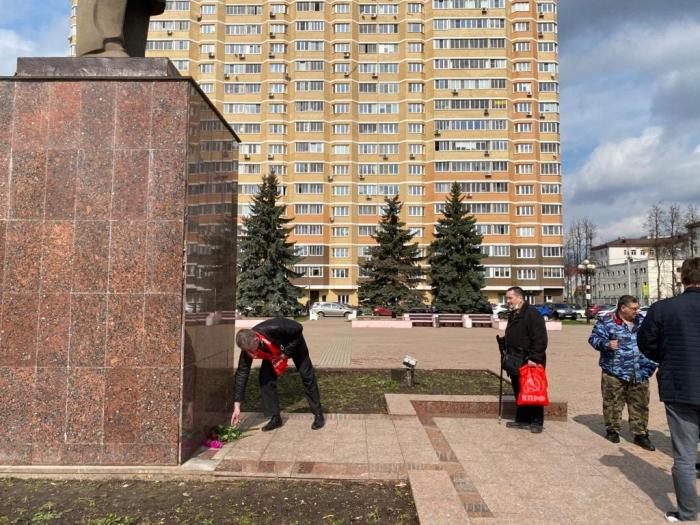 Красногорские коммунисты отметили 151-ую годовщину со дня рождения В.И. Ленина