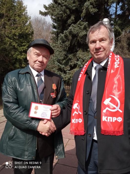 Солнечногорские коммунисты отметили 151 годовщину со дня рождения В.И. Ленина
