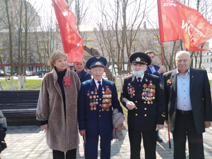 В Истре коммунисты отметили 151-ю годовщину со дня рождения Ленина