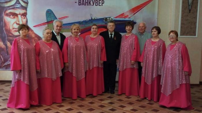 Концертные костюмы для хора ветеранов «Вдохновение»