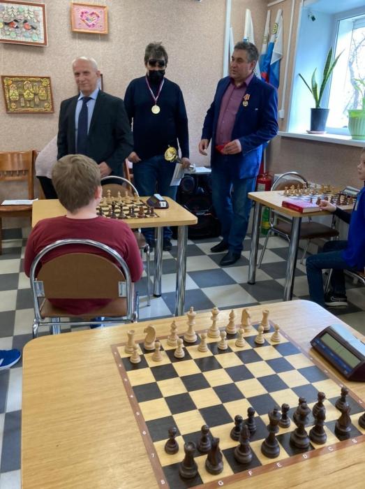 Шахматный турнир в Воскресенске