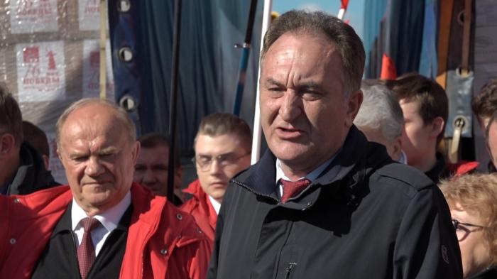 Выступление Н.И. Васильева на отправке 91-го гуманитарного конвоя на Донбасс