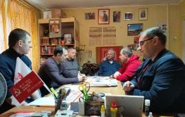 Кустовое совещание секретарей