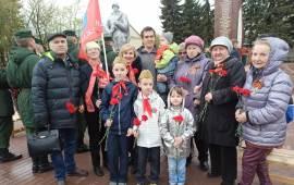 Праздничные митинги в Подольске