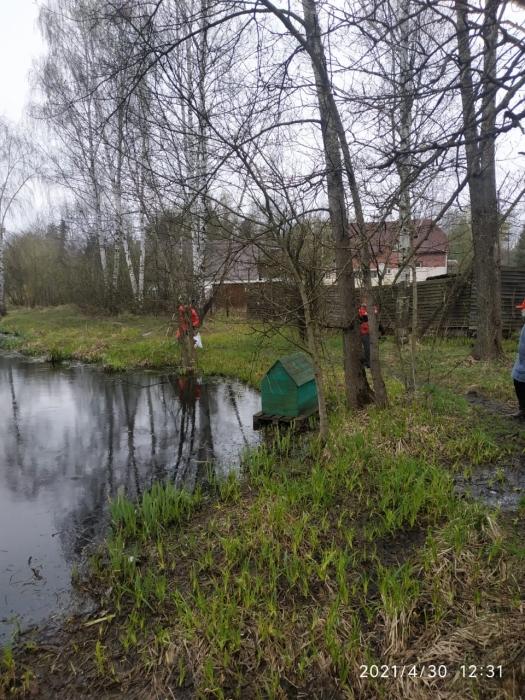 Субботник в Одинцовском городском округе