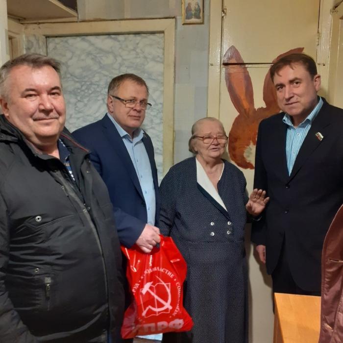 Депутат-коммунист Мособлдумы Александр Наумов посетил с рабочим визитом Ступино