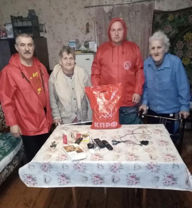 Никто не забыт: коммунисты Коломны заботятся о людях старшего поколения