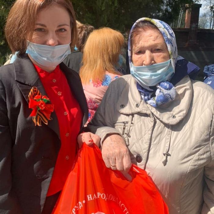 Коммунисты приняли участие в митинге