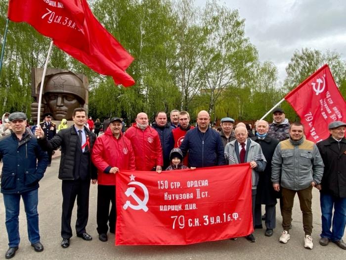 В Коломне торжественно отметили День Победы