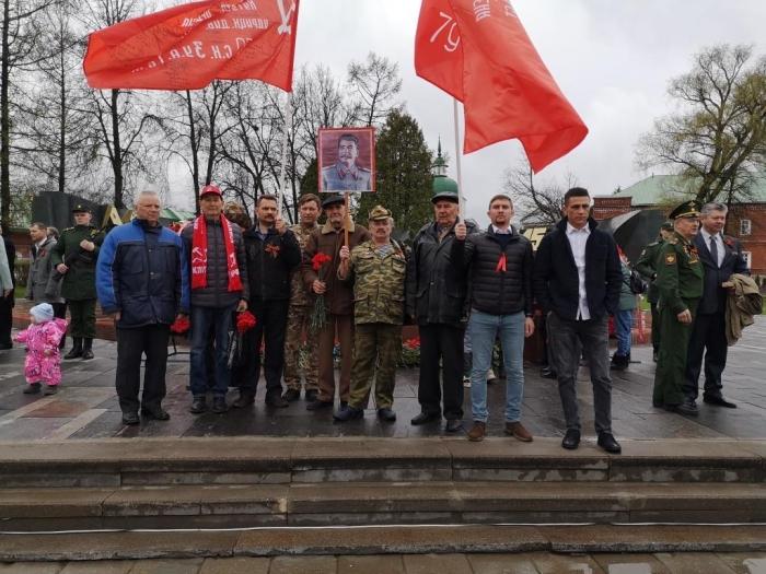 На парад со Сталиным