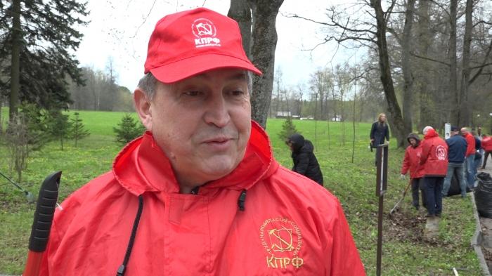 Интервью Константина Черемисова на Ленинском субботнике