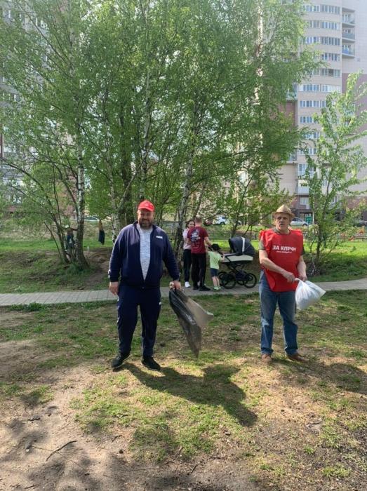 Коммунистический субботник в Пушкино