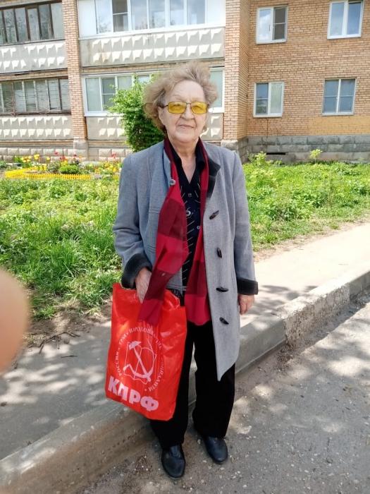 Помощь наро-фоминских коммунистов нуждающимся