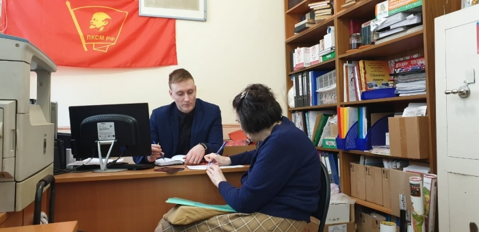 В Красногорском ГК состоялся приём граждан по вопросу оказания материальной помощи