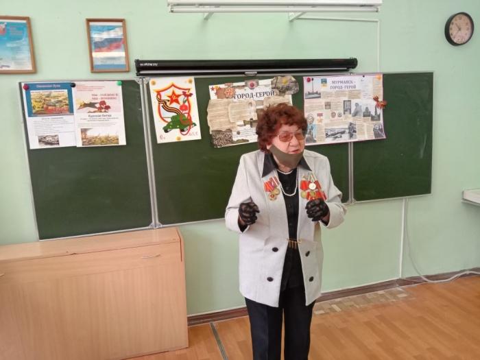 Уроки мужества в г. Орехово-Зуево
