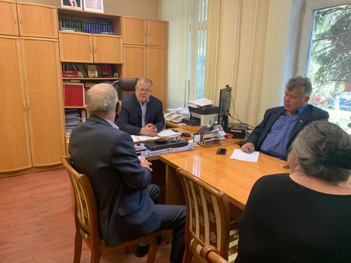 Депутаты-коммунисты Александр Наумов и Олег Емельянов провели приём граждан в Раменском