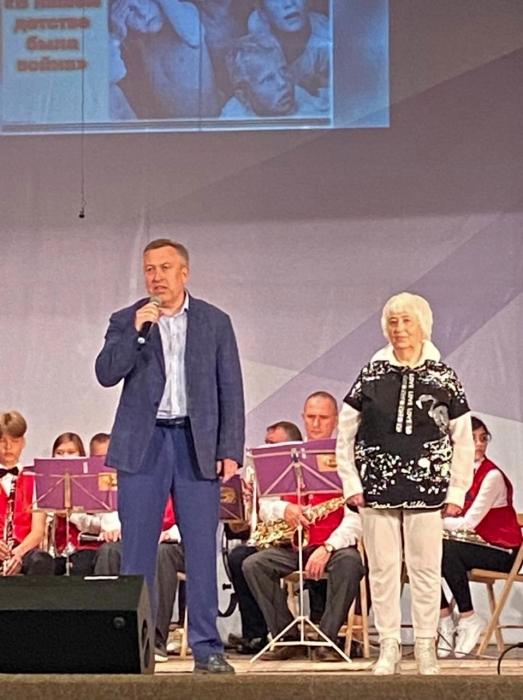 Черепенников А.В. поздравил детей войны в Кашире